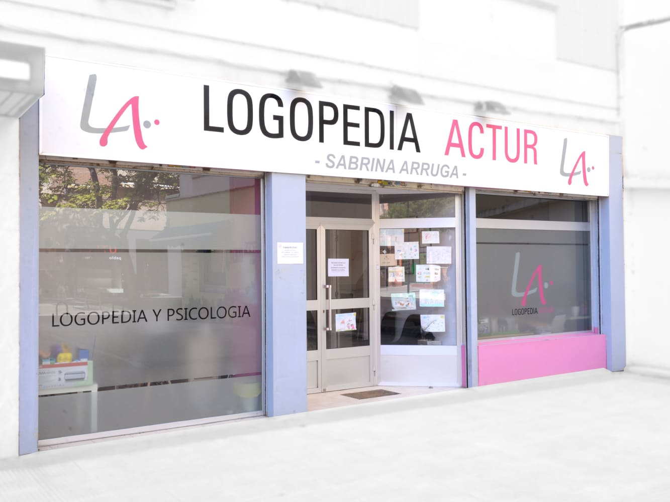 Logopedia y Psicología Actur - fachada